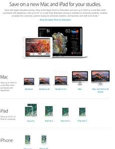 iPads & iMac sale with Unidays - Apple
