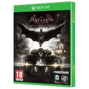 Batman Arkham Knight (Xbox One) (Pre-owned) £7.99 at 365games