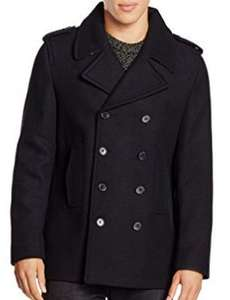 New Look Men's Wool Peacoat Coat - xl and small - Navy £12.65 to £27.35 (depending on size) @ Amazon.co.uk