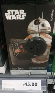 Sphero Special Edition BB-8 App-enabled droid with force band £45 @ Tesco, Kings Meadow Reading store.