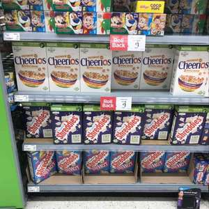 Shreddies 500g Cheerios 375g down to £1 @ Asda