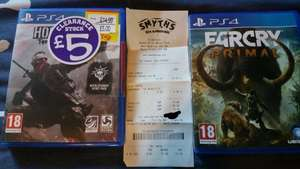 Homefront:Revolution (PS4) £5 & Far Cry:Primal (PS4) £10 @ Smyths (Instore)
