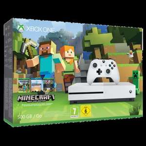 Xbox One S Console 500GB Minecraft : Favourites Bundle + Either Dead Rising 4 or Gears of War 4 £199.85 Delivered @ Shopto