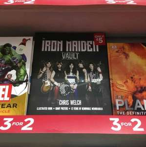 Iron Maiden Vault in store £5 WH Smith