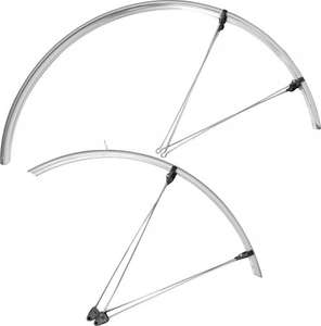 Zefal narrow mudguards @ ribble black £5.88, silver £6.26 + delivery £2.99.