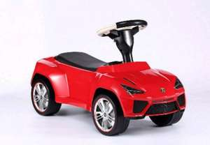 Lamborghini Urus Kids Push Along Car £44.99 / £46.94 delivered @ outdoor camping direct via Tesco Direct