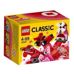 LEGO Classic Red Creativity Box 10707 £3.00 @Smyths Online + Instore
