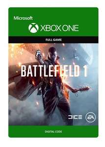 Battlefield 1 Xbox One Download £24.50 ($30) @ Amazon.com