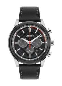 ​Citizen Watch Men's Solar Powered Eco Drive with Black Dial Analogue Display @ Amazon
