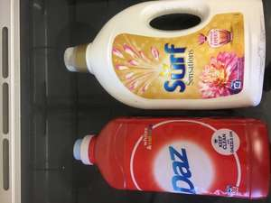 Daz 38 wash & Surf sensations 48 wash reduced to clear 20p @ Asda