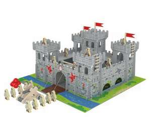 chad valley wooden castle £12.99 Argos