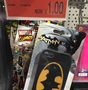 iPhone 5/5s Batman/Marvel/Star Wars Cases £1 instore @ B&M