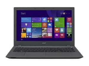 Acer Aspire E5-573 15.6-Inch Notebook (Intel Core i5-5200U 2.2GHz,4GB RAM,1TB HDD, Webcam, Windows 8.1) £263.58 @ Amazon warehouse
