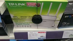 TP-LINK Archer C9 Wireless Cable & Fibre Router - AC 1900, Dual-band £69.97 @ PC World (in store) - John Lewis price matched