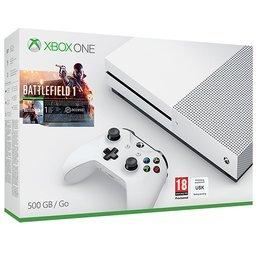 Xbox One S 500GB Bundle with Battlefield 1 plus Forza Horizon 3 - Game £229.99