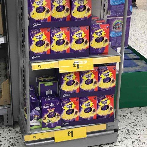 Cadburys Easter Egg 122g Creme Egg & Dairy Milk Freddo £1 @ Morrisons