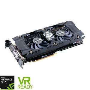 Inno3D NVIDIA GeForce GTX 1080 8GB Twin X2 Graphics Card £475.99 @scan