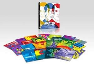 """Star Trek: The Animated Series"" (HMV Exclusive Art Cards) [3xBlu-ray Disc Set] £14.99 at Store.HMV.com"