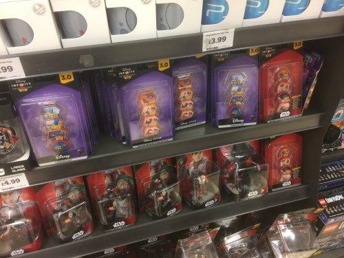Disney Infinity 3.0 Power Discs (Good Dinosaur / Star Wars / Tomorrowland etc) - £2.09 (cheapest around) @ Sainsbury's instore