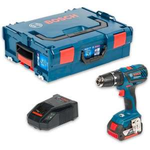 Bosch GSB 18-2-Li Plus Combi Drill in L-Boxx 18V (5.0Ah) @ Axminster for £119.96
