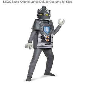 Lego nexo knights costume for kids from £6.45 @ Amazon