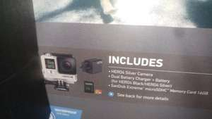GoPro Hero 4 silver package £239.00 instore at Costco