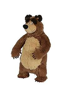 masha 35cm Bear Plush Toy - £6.99 @ Amazon - Prime Only