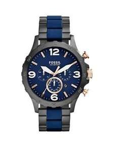 Fossil Men's Nate Navy & Black Bracelet Watch £79.99 H Samuel