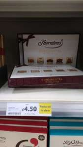 Thornton's continental box £4.50 instore @ tesco