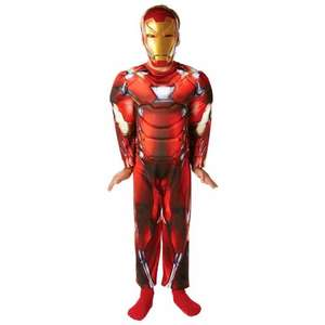 Marvel Civil War Deluxe Iron Man Costume- Small £7.00 (RRP £22.99) instore @ Smyths