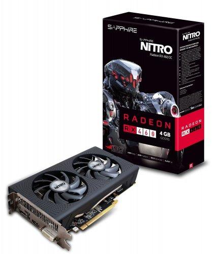 Sapphire Radeon RX 460 NITRO 4GB Graphics Card - £99.99 @ CCL Online