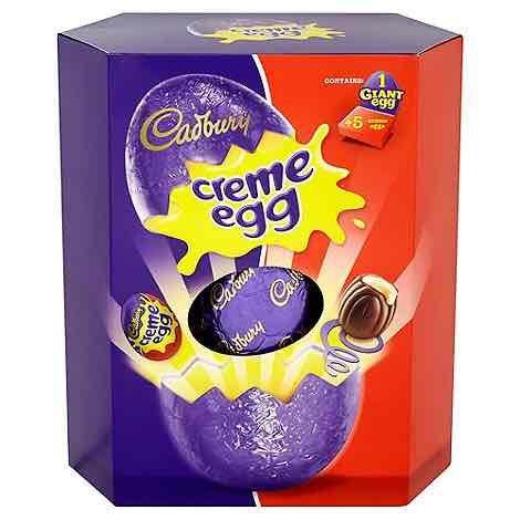 Cadbury giant easter eggs 50% off was £14/£13 now £7/£6 @ Debenhams