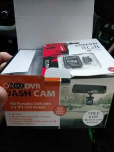 Object DVR Rolson Dashcam - £18.49 @ Shell Petrol Station (Ulverston)