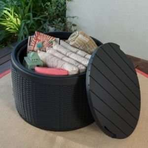 Keter Elsa Rattan Effect Garden Storage - IN STORE ONLY - £20 @ B&Q