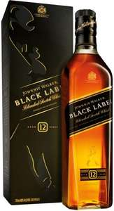 Johnnie Walker Black Label Scotch Whisky (70cl) was £30.00 now £20.00 @ Sainsbury's