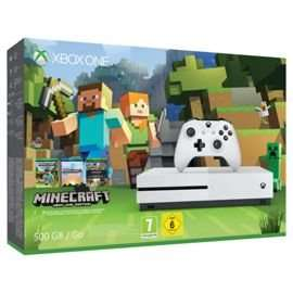 Xbox One S 500gb with Ghost Recon, Minecraft, Forza Horizon 3 and 2 extra controllers. £302.98 @ Tesco Direct