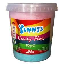 Halal Yummys candy floss x 6 £1.00 Fultons Foods