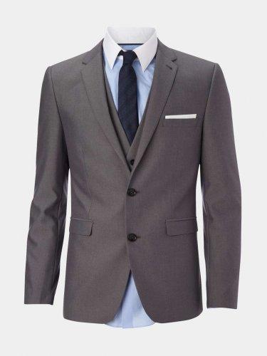 Burtons Grey Slim Fit mens suit Jacket £15 - free c&c