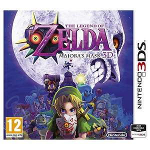 (Now Out of Stock) The Legend of Zelda, Majora's Mask 3D, 3DS £20 @ John lewis - £2 c&c