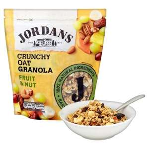 Jordans Crunchy Oat Granola Fruit & Nut 750g was £2.99 now £2.00 @ Ocado