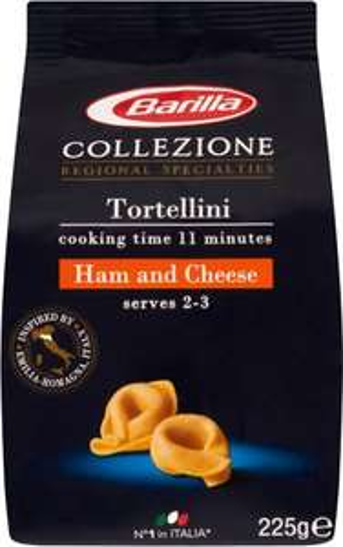 Barilla Tortellini Ham & Cheese (225g) was £2.60 now £1.30 @ Ocado
