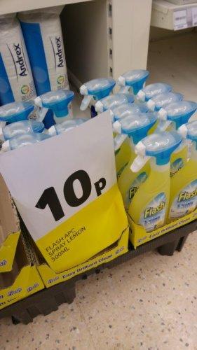 Flash spray 500ml 10p TESCO instore - Peterborough