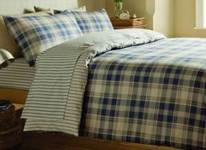Catherine Lansfield brushed cotton double duvet set £12.99 delivered @ I WANT ONE OF THOSE