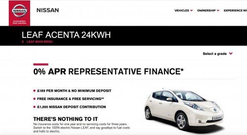 NISSAN 0% APRREPRESENTATIVE FINANCE £189pm (£5799.48 deposit) - 23190