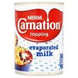 Carnation Evaporated Milk large tin for 65p @ Premier Stores