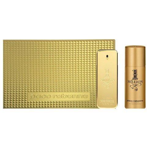 Amazon:Paco Rabanne 1 Million Gift Set for Men, 100ml EDT + 150ml Deodorant £30 Del.