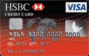 HSBC Credit Card £50 Cashback Offer 32 months fairly low fee of 1.4%!
