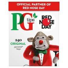 PG Tips Pyramid Tea Bags (240) was £5.99 now £2.99 @ Tesco