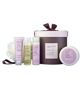 Sanctuary Mum To Be Ultimate Retreat Hat Box was £17.99 now £8.50 C+C @ Boots (+ other mum to be gift sets less than half price)