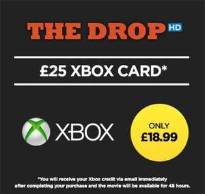 £25 Xbox credit and The Drop for £18.99 at Wuaki